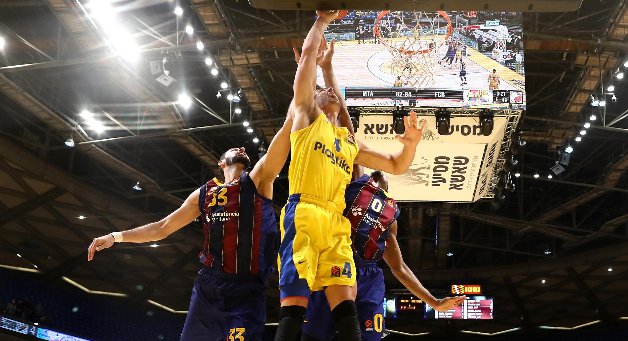 Mirotic deixa empremta però el Barça cau davant el Maccabi